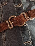 cinturon-piel-labrada-marron-con-hebilla-de-serpiente-dorada-bohochic