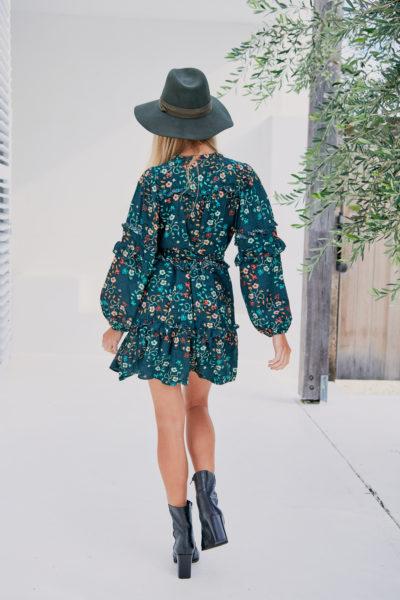 vestido-boho-estampado-floral-verde-oscuro-corto-mini4