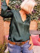 camisa-satinada-verde