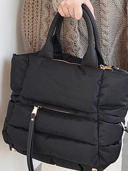 bolso-acolchado-nylon-negro